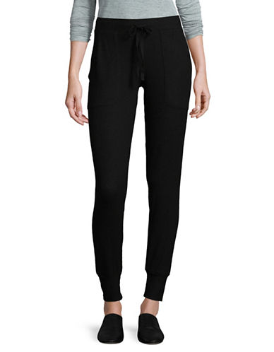 Joie Tendra Jogger Pants-BLACK-Small