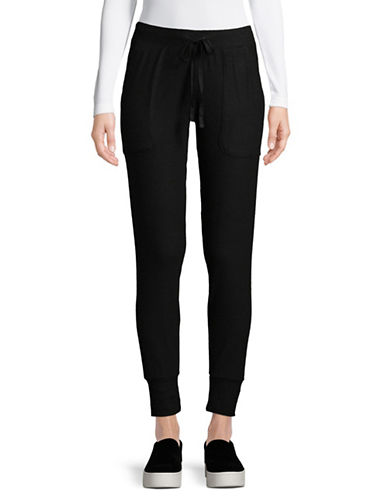 Joie Tendra Jogger Pants-BLACK-Medium