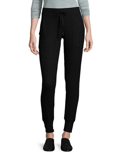Joie Tendra Jogger Pants-BLACK-Large 89499813_BLACK_Large