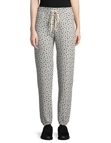 Current Elliott Collegiate Star Pants-GREY-Small