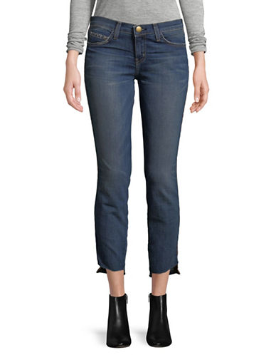 Current Elliott The Stiletto Skinny Jeans-BLUE-25