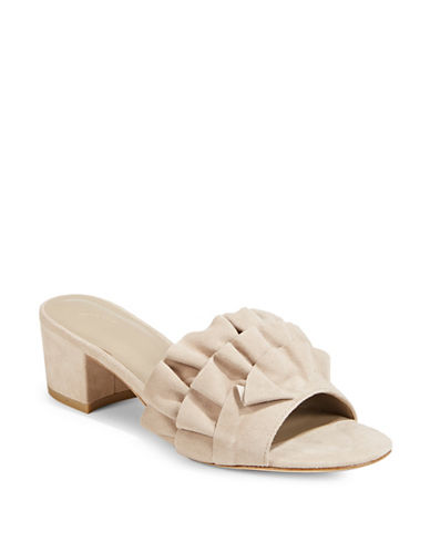 Joie Mai Suede Mules-GREY-EUR 37.5/US 7.5