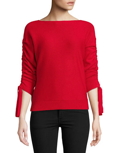 Joie Dannee Wool-Blend Sweater-ALARM RED-Medium
