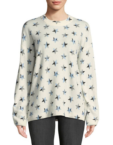 Equipment Cashmere Star Sweater-IVORY-X-Small