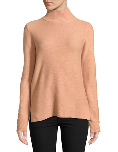 Equipment Turtleneck Wool-Blend Sweater-PEACH-X-Small