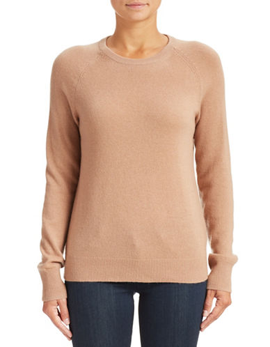 Equipment Cashmere Crew Neck Sweater-CAMEL-Medium