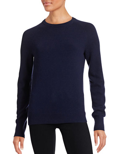 Equipment Cashmere Crew Neck Sweater-BLUE-Medium
