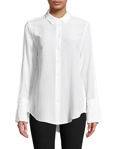 Equipment Rossi Silk Blouse-WHITE-Small