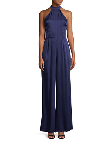 Rsvp By Bb Dakota Halterneck Jumpsuit-BLUE-4