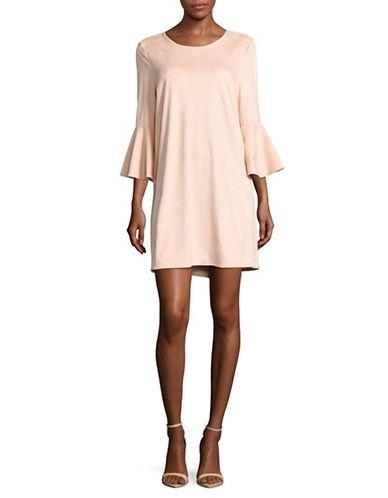 Jack By Bb Dakota Flounce Sleeve Shift Dress-PINK-Medium