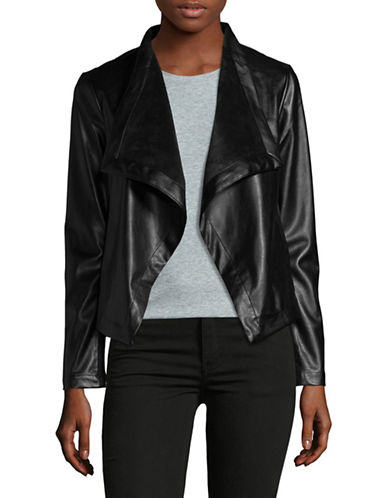 Design Lab Lord & Taylor Gracelyn Jacket-BLACK-Medium