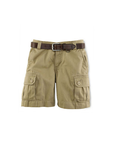 Ralph Lauren Childrenswear Boys 2-7 Khaki Cargo Shorts-CLASSIC KHAKI-4