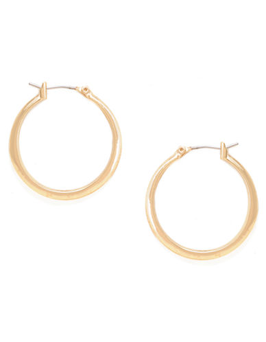 Kenneth Cole New York Small Hoop Earring-GOLD-One Size