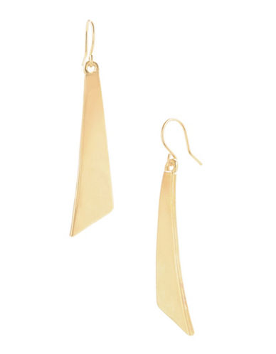 Kenneth Cole New York Gold Geometric Stick Linear Earring-GOLD-One Size