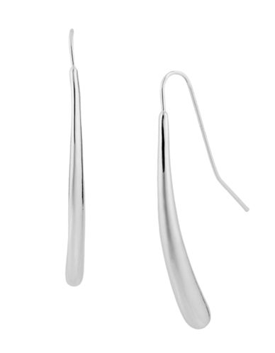 Robert Lee Morris Soho Teardrop Pull Thru Earring-SILVER-One Size