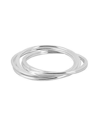 Robert Lee Morris Soho Multi Flat Bangle Bracelets-SILVER-One Size