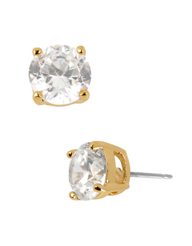 Kenneth Cole New York Crystal Stud Earring-CRYSTAL GOLD-One Size