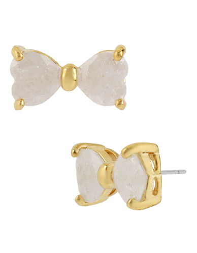 Betsey Johnson Metal Stud Earring-IVORY-One Size