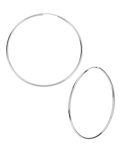 Kenneth Cole New York Large Hoop Earring-SILVER-One Size