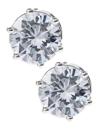 Robert Lee Morris Soho Cubic Zirconia Stud Earrings-CRYSTAL-One Size