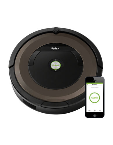 Irobot The Roomba 890 Wi-Fi Connected Vacuuming Robot-PEWTER-One Size