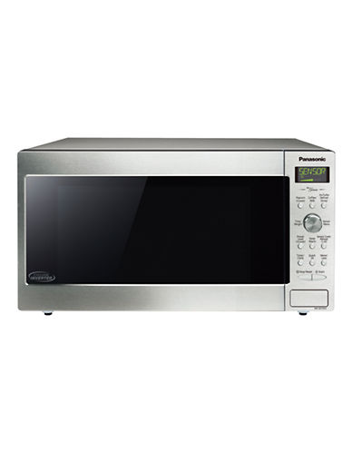 Panasonic 1.6 cu. ft. Cyclonic Wave Microwave Oven-STAINLESS STEEL-One Size