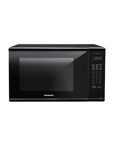 Panasonic Genius 1.3 cu.ft. Microwave Oven-BLACK-One Size