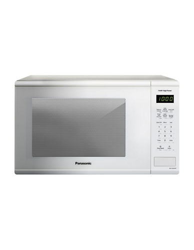 Panasonic 1.3 cu.ft. 1100W Microwave Oven-WHITE-One Size