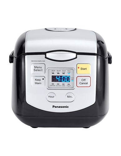 Panasonic Eight Program Multi-Function Rice Cooker-BLACK-One Size