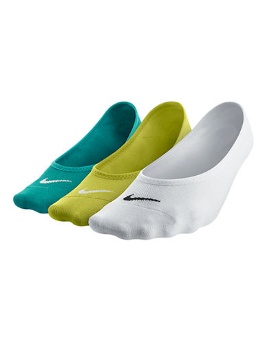 Nike 3-Pack Sport Sockettes-WHITE-One Size