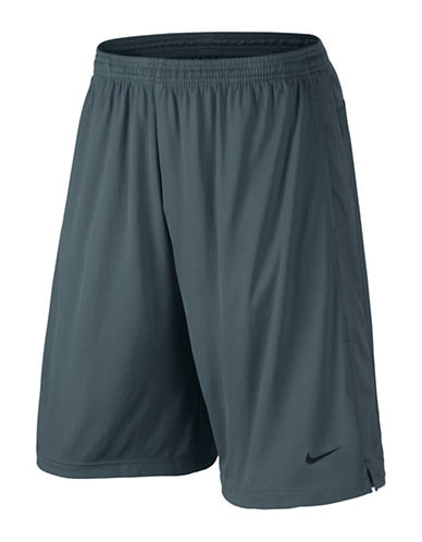 Nike Core Knit Active Shorts-FLINT GREY-Medium 88501558_FLINT GREY_Medium
