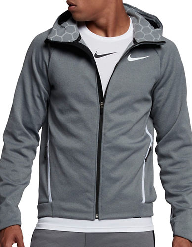 Nike Therma Sphere Max Training Hoodie-GREY-X-Large