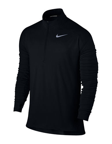 Nike Dry Element Running Top-BLACK-Medium