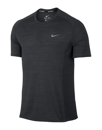 Nike Dry Miler Running Top-BLACK-Large 88973715_BLACK_Large