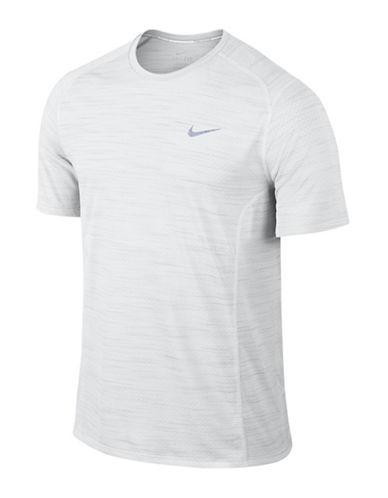 Nike Dry Miler Running Top-WHITE-Large 88925509_WHITE_Large