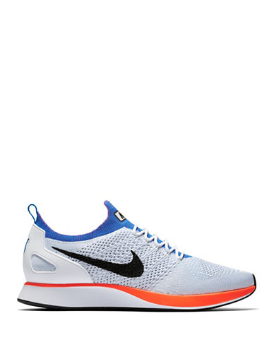 Nike Air Zoom Mariah Flyknit Racer Shoes-WHITE-10.5