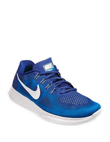Nike Mens Free RN Running Shoes-BLUE-9 89255422_BLUE_9