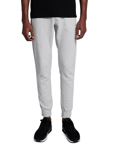 Nike Legacy Cotton Jogger Pants-GREY-XX-Large