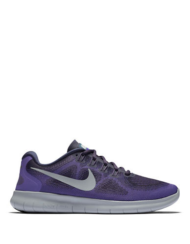 Nike Womens Free Mesh Running Shoes-PURPLE-5