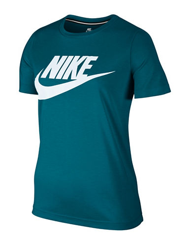 Nike Sportswear Essential T-Shirt-BLUSTERY-Large