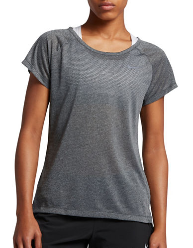 Nike Breathe Running Top-ANTHRACITE-Large