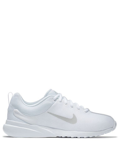 Nike Womens Superflyte Sneakers-WHITE-9