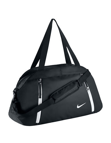 Nike Auralux Club Duffel Bag-BLACK-One Size