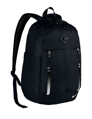 Nike Auralux Nylon Backpack-BLACK-One Size