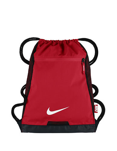 Nike Alpha Gym Sack-RED-One Size