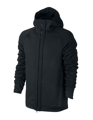 Nike Sportswear Tech Fleece Hoodie-BLACK-Large 88973760_BLACK_Large