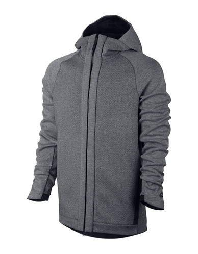 Nike Sportswear Tech Fleece Hoodie-GREY-Large 88973765_GREY_Large