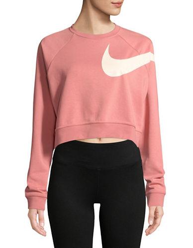 Nike Dry Logo Cropped Top-PINK-Medium 89529561_PINK_Medium