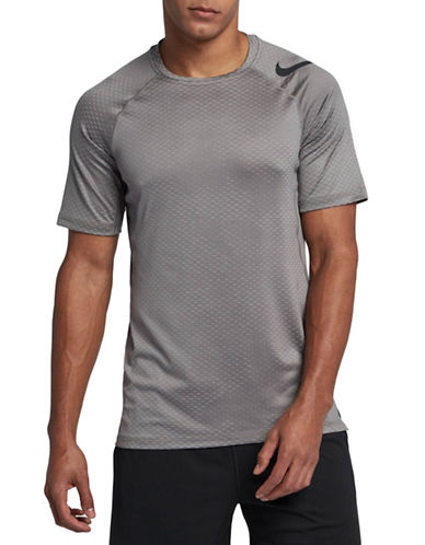 Nike Pro Hyper Cool Top-GREY-Large 89087488_GREY_Large