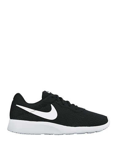 Nike Womens Tanjun Athletics Sneakers-BLACK-6